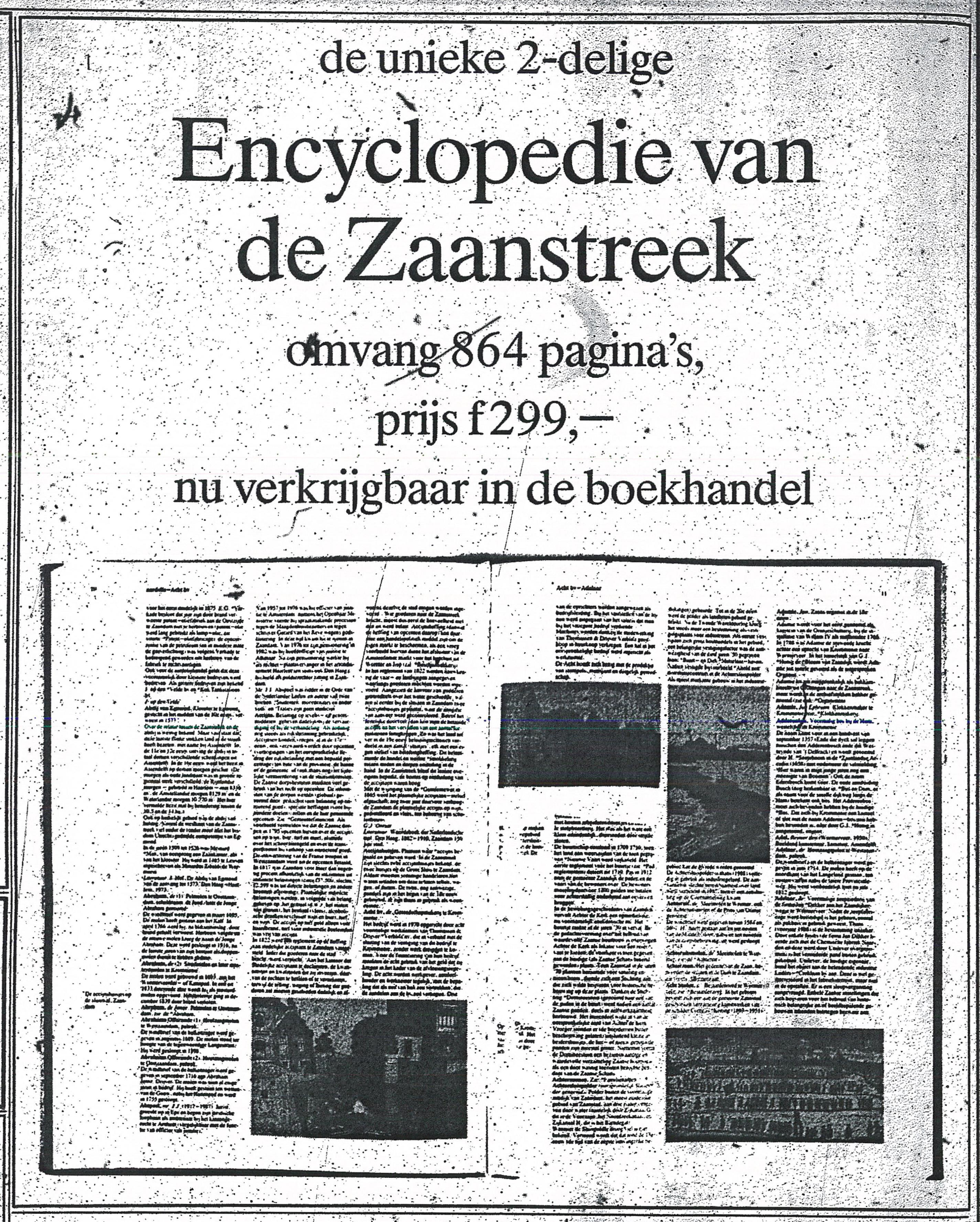 Advertentie Encyclopedie De Typhoon 26-10-1991